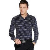 Nuove camice di vestito convenzionale da affari del cotone di arrivi con il manicotto lungo