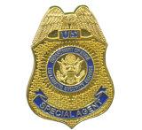 La policía suave del oficial de encargo del esmalte Badge