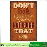 棒の印のボードを広告するハング棒装飾パブの壁Decorc154