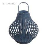 Lanterne di bambù dell'annata di stile unico speciale del residuo con le maniglie