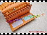Бумажник PU 3 бумажников способа створки длинних старых кожаный