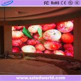 Usine incurvée polychrome d'intérieur d'écran de panneau de panneau d'Afficheur LED d'arc (P3, P4, P5, P6)