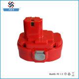 Reemplazo 14.4V 3000mAh Ni-MH de la batería de la herramienta eléctrica para Makita