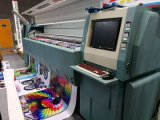Máquina de impressão solvente Fy-32712y de Digitas da impressora com velocidade 282sqr/H de Hight (largura de 3.2m)