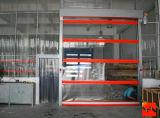 Il tessuto interno industriale del PVC ad alta velocità rotola in su il portello con la certificazione del Ce (HF-K05)