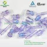 Connecteur libre de pointeau de Y pour le raccordement de tube d'infusion