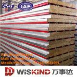 Feuer-Bewertungs-Isolierungs-Mineralwolle-/Rock-Wolle-Zwischenlage-Panel mit ISO9001