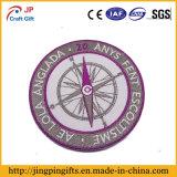 Заплаты вышивки круглой формы выдвиженческие цветастые