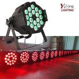 Großhandels18pcs 10W RGBW Hochzeitsfest-Disco LED NENNWERT Licht
