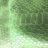 大蛇の腹穀物Hx-S1720を作る袋の靴のための総合的なPUの革