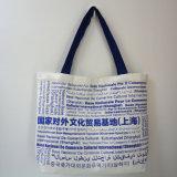 Directement sacs de toile de prix de gros d'usine pour les achats et l'emballage d'élève d'école