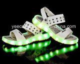 형식 LED 아이들 또는 아이는 샌들 단화를 불이 켜진다
