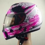 女性のためのオートバイの太字のヘルメット