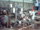 Misturador de alimentos de alta qualidade aquecedor aquecido / vapor / panelas de cozinha industriais com misturador