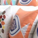 Coperchi di tela del cuscino di caduta del cotone di lusso per lo strato