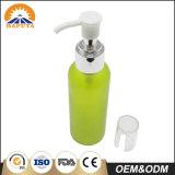 Grüne dünne kosmetische Haustier-Flasche für Haut-Sorgfalt