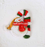 Ornements de Noël Aimant de résine de conception de chaussette pour la promotion (YH-RFM022)