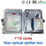 Коробка прекращения оптического волокна коробки Splitter оптического волокна 16 сердечников напольная крытая
