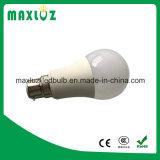 Luz de bulbo A60/A19 do diodo emissor de luz de E27 E26 B22 com 2 anos de garantia