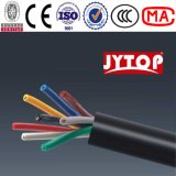 El tejido del alambre de cobre de la baja tensión blindó el cable de control defendido