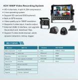 4 canales DVR con 7 pulgadas de pantalla digital LCD Monitor