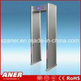 Caminata de la sensibilidad del fabricante de China alta a través de la puerta con 8 zonas