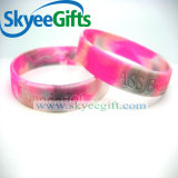 Wristband promozionale turbinato del silicone di colore