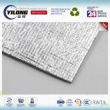 Hoja de espuma barrera radiante EPE con papel de aluminio