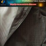 新しいポリエステルあや織り人衣服、ポリエステルファブリック製造者のための小切手によって印刷されるPU上塗を施してあるファブリック