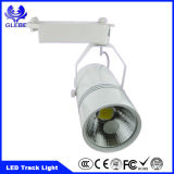 Super Bright Track Light 15W Epistar COB 3 pinos LED Track Light