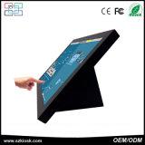 Terminale doppio di posizione di tocco dello schermo dell'affissione a cristalli liquidi di pollice TFT del registro 15 del cassiere