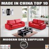Sofá quente do couro do Sell do sofá europeu do sofá da mobília 2+3 do estilo