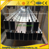 Exportador de alumínio que fornece perfil de parede de cortina de alumínio para Fachada
