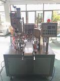Máquina de relleno del lacre de la taza rotatoria automática para la cápsula del café