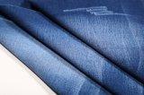 tissu 10oz de denim de Spandex du sergé TR de l'indigo 10s pour des jeans