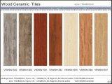 Tuile rustique de tuile en bois durable pour le matériau de construction de Chambre (VRW6N1561, 150X600mm)