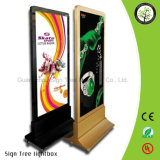 Edgelight Street Display Material Publicidad Foco LED Light Box
