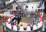 Completare la riga industriale di produzione di latte UHT della latteria