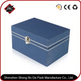 Broncear el rectángulo de almacenaje de papel del regalo para los productos del cuidado médico