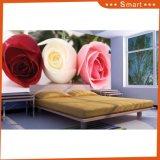 Le vendite calde hanno personalizzato la pittura a olio di disegno 3D del fiore per la decorazione domestica (modello no.: HX-5-042)