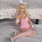 140 cm de tamaño completo del sexo del silicón sólido Muñeca japonesa del Anime cosplay muñeca juguete del sexo del producto