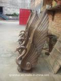Cigno di Waterscape, cigno esterno del bronzo della decorazione di Waterscape del giardino