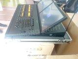 Asa leve grande do comando do console do miliampère e asa do Fader com 2 o controlador das telas DMX