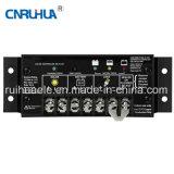 Solarbildschirmanzeige des aufladeeinheits-Controller-10A 20A 12V 24V LCD Doppel