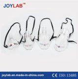 Masque à oxygène simple médical de vente chaude avec le certificat de la CE