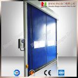 Albanien, das schnell ist, stapeln oben die schnelle Tür zusammenfalten Tür-schnelle Rollen-Blendenverschluss-Tür (Hz-FC032)