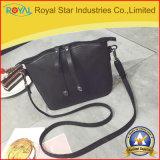 여자의 현대 유행 뒤집을 수 있는 핸드백, 물색 어깨에 매는 가방