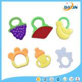 Игрушки молотилки зубов силикона Teether младенца внимательность рта мягкой младенческая