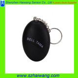 Mini alarma personal de Keychain del balompié seguro personal de la alarma