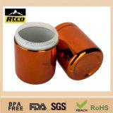 scatola metallica della plastica della bottiglia del pacchetto di supplemento di nutrizione di sport dell'HDPE 250ml